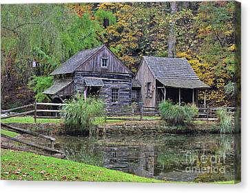 The Homestead Country Living Canvas Print by Paul Ward