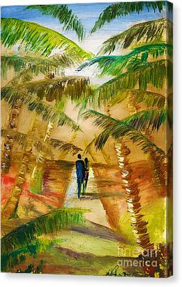 Canvas Print - The Honeymooners by Donna Chaasadah