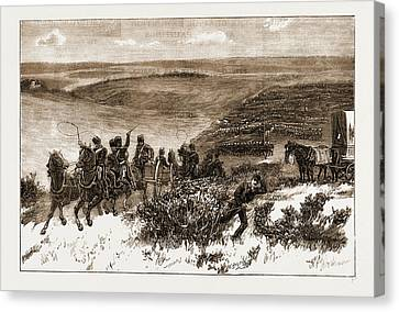 The Honourable Artillery Company Going Into Action Canvas Print by Litz Collection