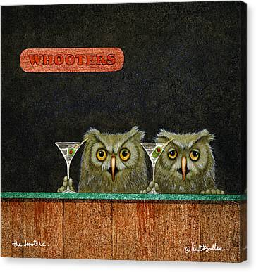 The Hooters... Canvas Print by Will Bullas