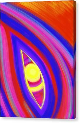 Daina Canvas Print - The Horizon Of Osirus by Daina White