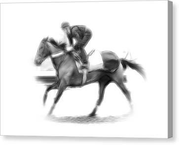 The Horseman Canvas Print by Steve K