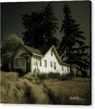 The House Canvas Print by Charlie Duncan