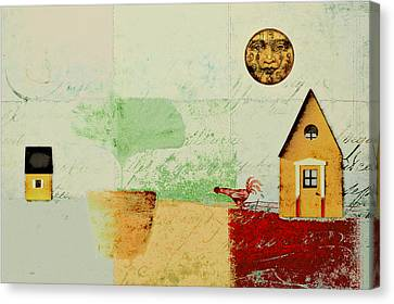 The House Next Door - J191206097-c4f1 Canvas Print