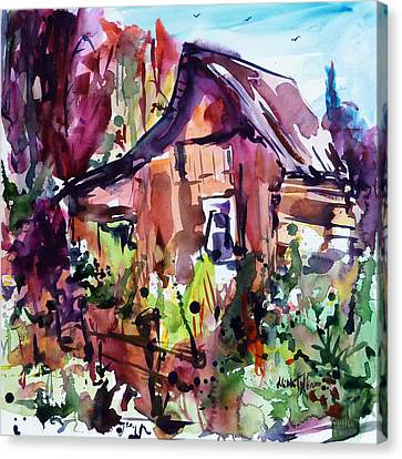 The House On The Edge Of The Forest Canvas Print