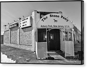 The House That Bruce Built II - The Stone Pony Canvas Print by Lee Dos Santos