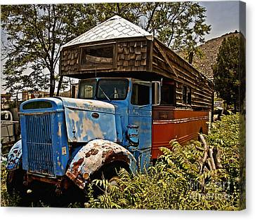 The House That Peterbilt Canvas Print