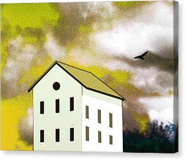 The House That Thor Built Canvas Print by Lenore Senior