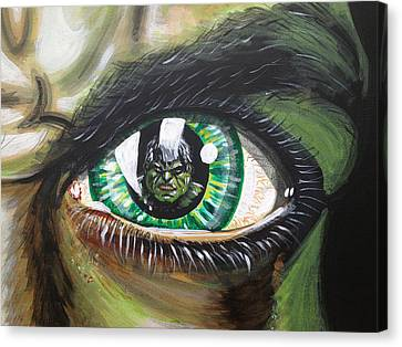 The Hulk Canvas Print by Danny Anderson