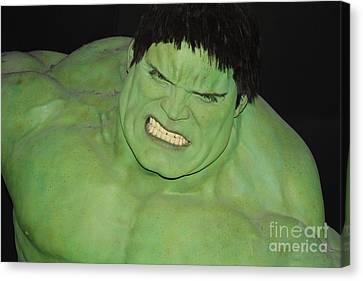 The Hulk Canvas Print by John Telfer