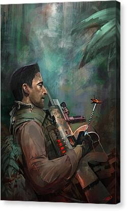 The Hunting Of Man Canvas Print by Steve Goad