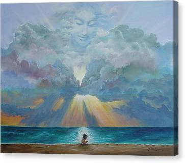 The I Am Presence Canvas Print by JoAnne Castelli-Castor