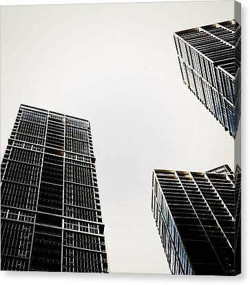 The Icon Bldg. Complex - Miami Canvas Print by Joel Lopez