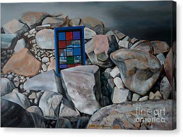 The Icon Of Today Canvas Print by Jukka Nopsanen