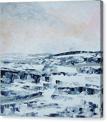 The Idle Rocks Canvas Print by Sally Kelly
