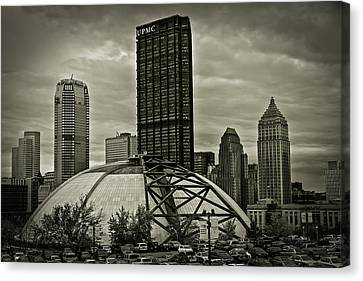 The Igloo Canvas Print by John Duffy