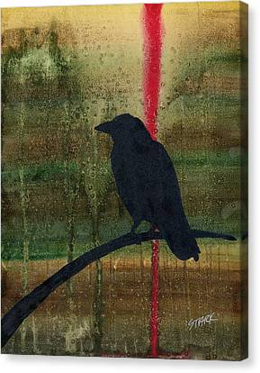 The Impossibility Of Crows Canvas Print by Jim Stark
