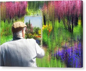 The Impressionist Painter Canvas Print by Jessica Jenney