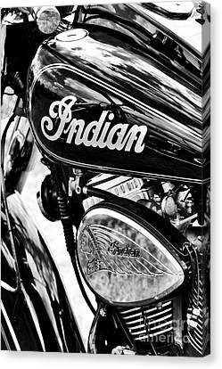 Tim Canvas Print - The Indian Chief by Tim Gainey