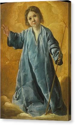 The Infant Christ Canvas Print
