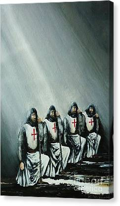 The Initiation Canvas Print