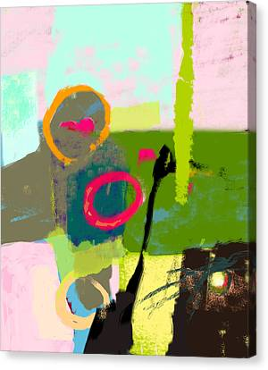 The Inner Landscape Canvas Print by Catchy Little Art