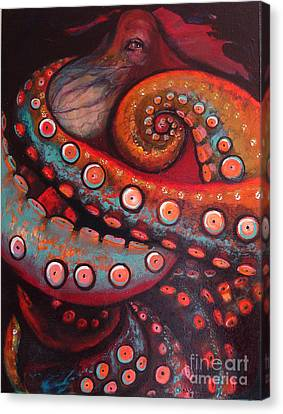 The Intelligent Eye  Canvas Print