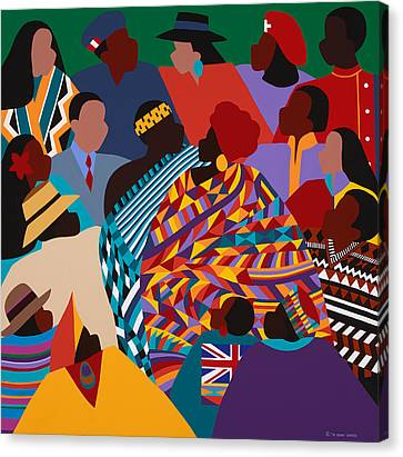Canvas Print - The International Decade by Synthia SAINT JAMES