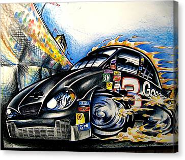 The Intimidator Canvas Print by Big Mike Roate