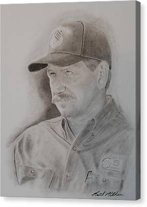 The Intimidator Canvas Print by Brent  Mileham