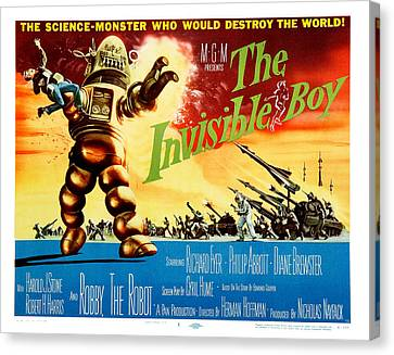 The Invisible Boy Poster Canvas Print by Gianfranco Weiss