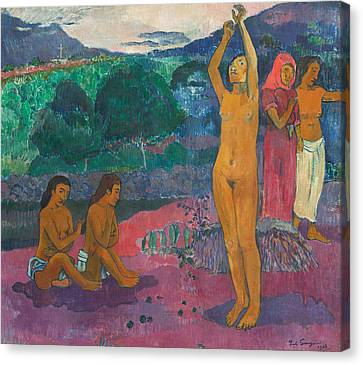 The Invocation Canvas Print by Paul Gauguin