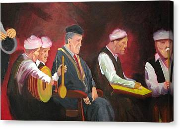 The Iraqi Maqam Canvas Print by Rami Besancon