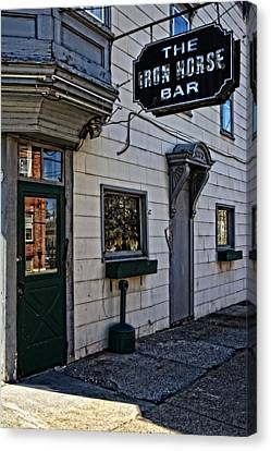 The Iron Horse Bar Canvas Print by Mike Martin