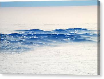 The Sea Of Clouds Canvas Print