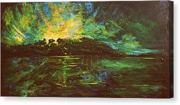 The Isle Canvas Print by Lyndsey Hatchwell