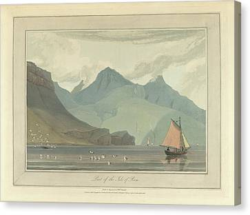 The Isle Of Rum Canvas Print by British Library