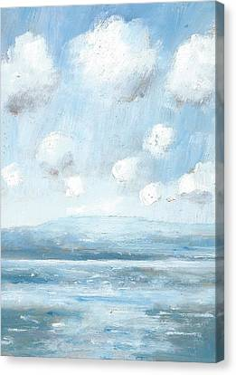 The Isle Of Wight From Portsmouth Part Seven Canvas Print by Alan Daysh