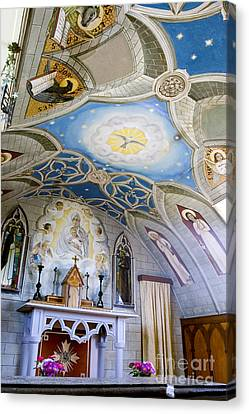 The Italian Chapel Mural Orkney Canvas Print by Tim Gainey