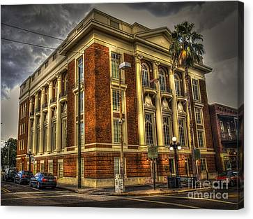Dark Clouds Canvas Print - The Italian Club by Marvin Spates