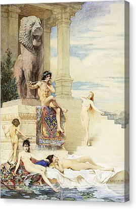 The Ivory Flute Canvas Print
