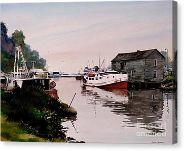 The James B Canvas Print by Michael Swanson