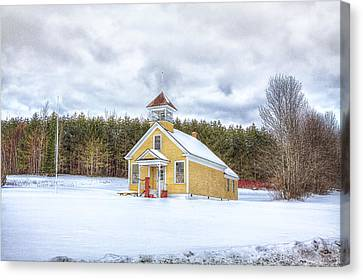 The James School Canvas Print by Gary Smith
