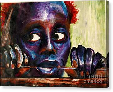 The Jarawa Tribe Canvas Print