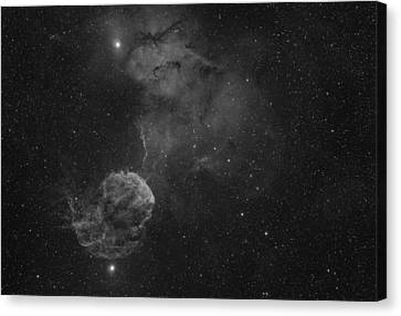 The Jellyfish Nebula Canvas Print by Brian Peterson