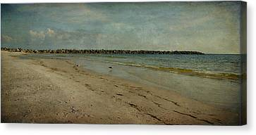 The Jetty Canvas Print by Sandy Keeton