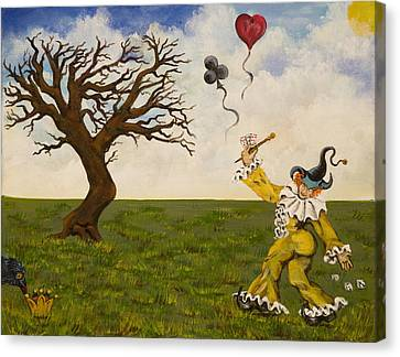 The Jokers Wild Canvas Print by Susan Culver