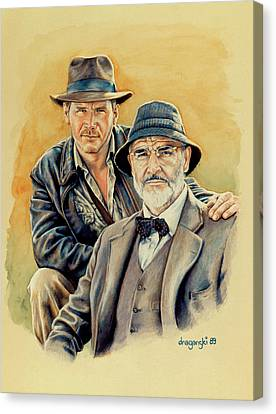 The Jones Boys Canvas Print by Edward Draganski