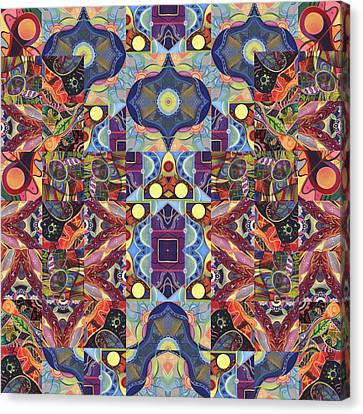 The Joy Of Design Mandala Series Puzzle 1 Arrangement 7 Canvas Print