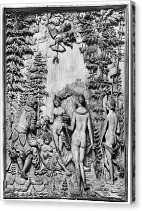 The Judgment Of Paris Canvas Print by Granger